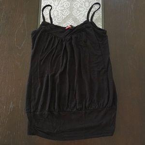 🎉(5 for $8) Black forever21 spaghetti strap top